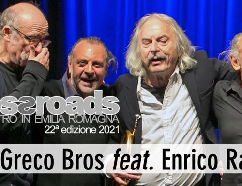 RIMANDATO!! 27 giugno: Lo Greco Bros feat. Enrico Rava a Terramara