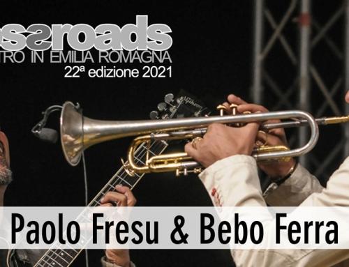 Giovedì 23 settembre: Paolo Fresu & Bebo Ferra al Socjale