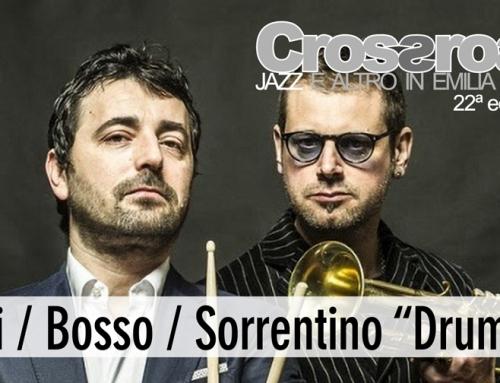 Venerdì 1 ottobre: Tucci/Bosso/Sorrentino a Massa Lombarda