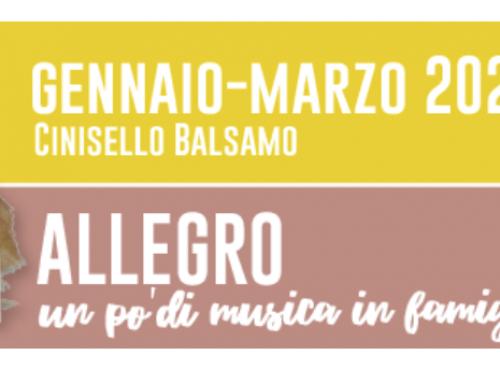 Allegro: dal 15 gennaio al 27 marzo 2020