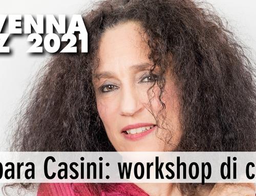 Workshop di Barbara Casini: domenica 12 settembre