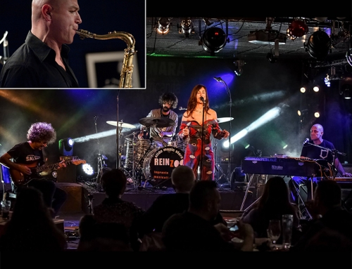 9 maggio: Lisa Manara Quartet + Aperitif di Giacomo Toni