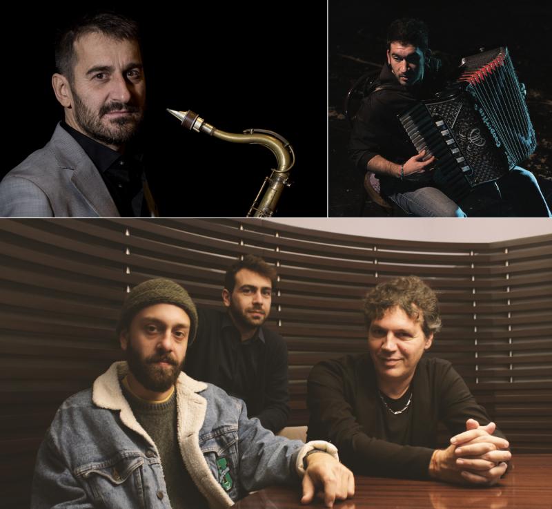 Correggio, 28 maggio: F. Bearzatti & C. Ioanna + Mirko Signorile Trio Trip