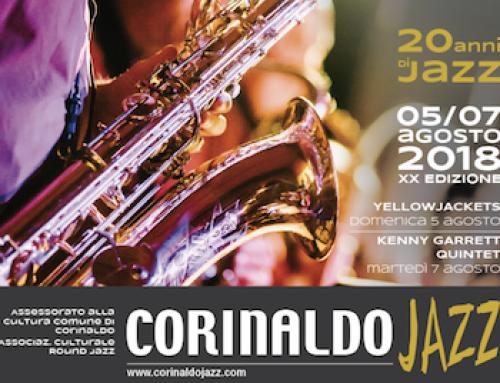 Corinaldo Jazz 2018: 20 anni di Jazz, 5 – 7 agosto