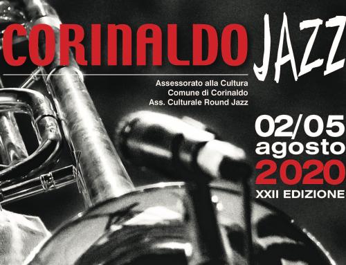 Corinaldo Jazz 2020: 2 e 5 agosto